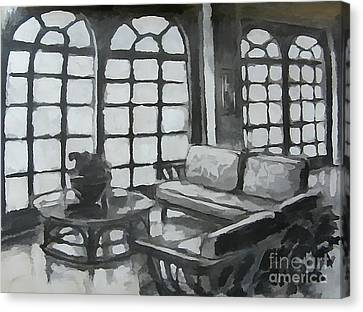 Black And White Designs Canvas Print by John Malone