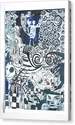 Black And White  Canvas Print by Joe Ryan