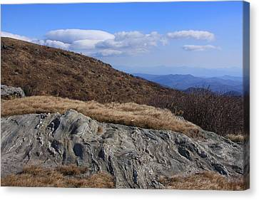 Canvas Print featuring the photograph Black Balsam Knob-north Carolina by Mountains to the Sea Photo
