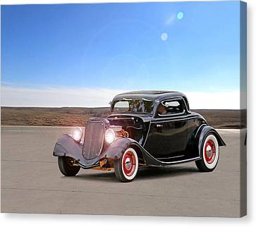 Black Beauty Canvas Print by Christopher McKenzie