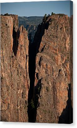 Canvas Print featuring the photograph Black Canyon Island View  by Eric Rundle