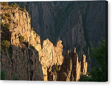 Canvas Print featuring the photograph Black Canyon Sitting Camel  by Eric Rundle
