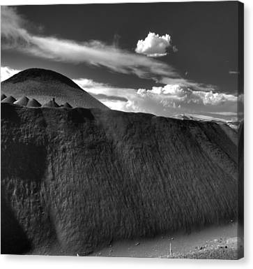 Black Dune Canvas Print