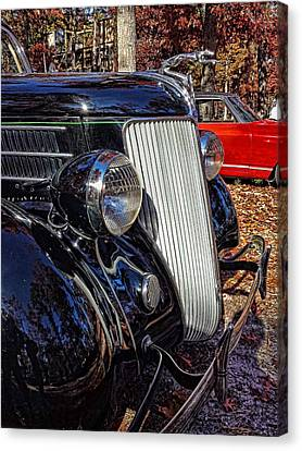 Black Grill Canvas Print