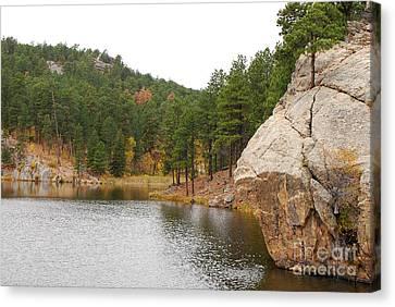 Black Hills Lake Canvas Print by Mary Carol Story