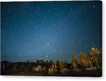 Black Hills Night Canvas Print