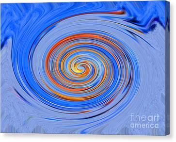 Black Hole Blue Hole Canvas Print
