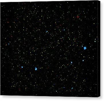 Black Holes Canvas Print by Nasa/jpl-caltech/yale University