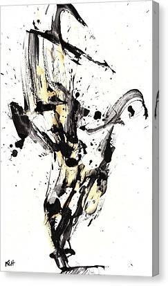 Black Is White White Is Black Canvas Print by Kris Haas