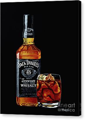 Black Jack Canvas Print