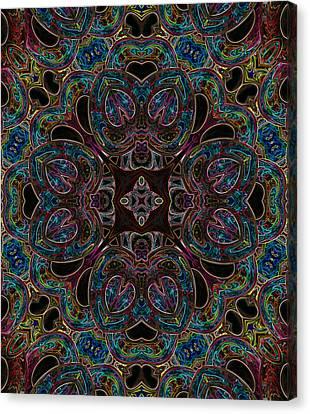 Black Light 2 Canvas Print by Wendy J St Christopher