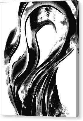 Black Magic 306 By Sharon Cummings Canvas Print by Sharon Cummings