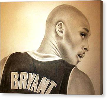 Black Mamba Canvas Print by Araceli Rizo