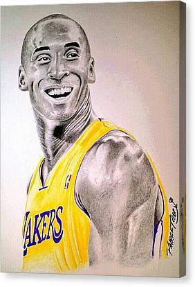 Black Mamba Canvas Print by Patrick Rose