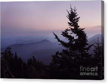 Black Mountains4 Canvas Print