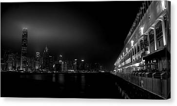 Black Orient Canvas Print