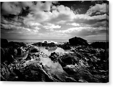 Black Rocks 1 Canvas Print