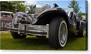 Black Rod Canvas Print by Mick Flynn