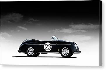 Black Speedster Canvas Print by Douglas Pittman