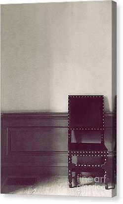 Black Stud Canvas Print by Margie Hurwich