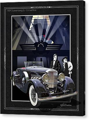 Black Tie Canvas Print - Black Tie Affair by Roger Beltz
