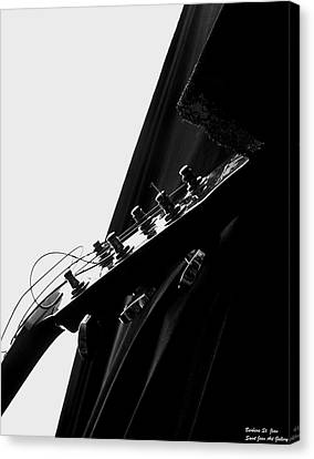 Black Velvet And Lace Canvas Print by Barbara St Jean