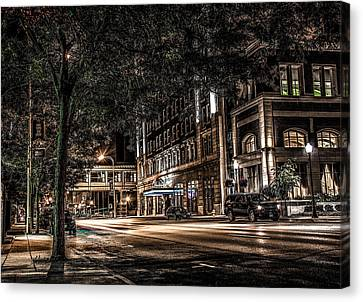 Blackhawk Hotel Canvas Print by Ray Congrove