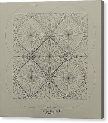 Blackhole Canvas Print by Jason Padgett