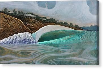 Blacks Beach Canvas Print by Nathan Ledyard