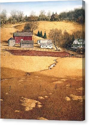 Blackshear Hollow Canvas Print by Tom Wooldridge