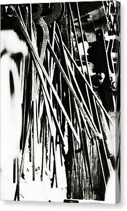 Blacksmith Iron  Canvas Print by Chastity Hoff