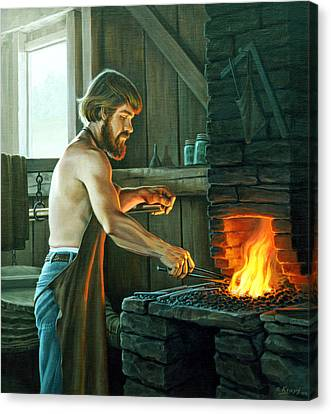 Blacksmith Canvas Print