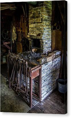 Blacksmiths Forge Canvas Print