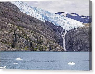Blackstone Glacier Canvas Print by Saya Studios