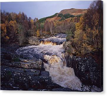 Blackwater Falls - Scotland Canvas Print