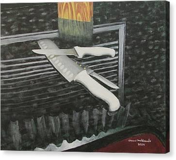 Blades Canvas Print