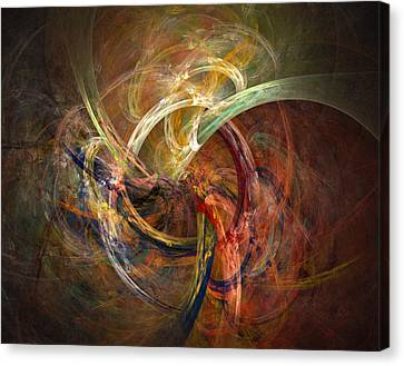 Blagora Canvas Print by David April