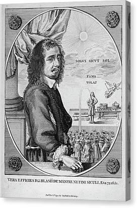 Blaise Manfre Canvas Print by Granger
