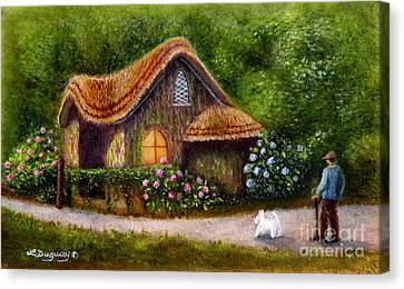 Blaise Rustic Cottage Canvas Print