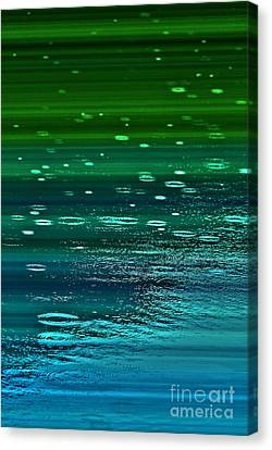 Canvas Print featuring the photograph Blame It On The Rain by Cynthia Lagoudakis