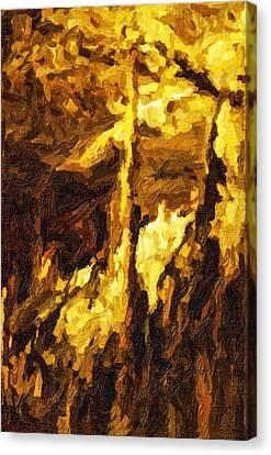 Blanchard Springs Caverns-arkansas Series 07 Canvas Print by David Allen Pierson