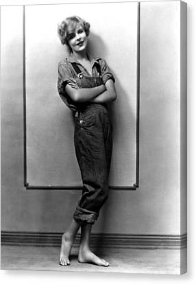 Tomboy Canvas Print - Blanche Sweet, Ca. Mid-1920s by Everett