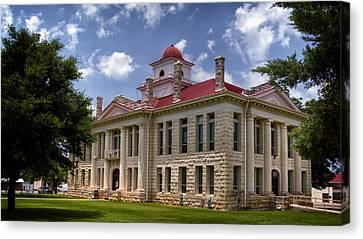 Blanco County Courthouse Canvas Print
