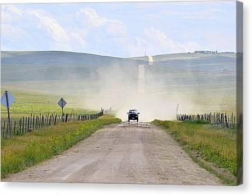 Blasingame Road   Canvas Print