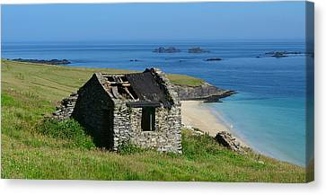 Blasket Island Canvas Print by Barbara Walsh