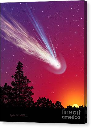 Blazing By Canvas Print