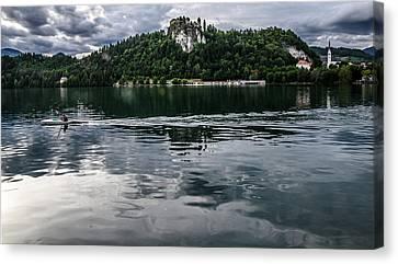 Bled Lake Landscape Canvas Print