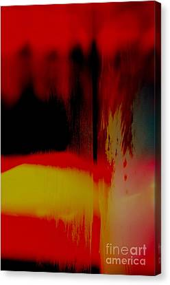Bleed Canvas Print by Paul Foutz