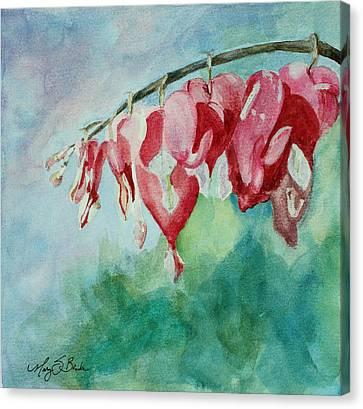 Bleeding Hearts Canvas Print