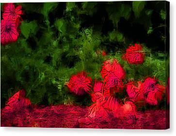 Masterful Canvas Print - Bleeding Souls by The Art Of Marilyn Ridoutt-Greene